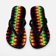 10x16_rastaStripesTD4 Flip Flops