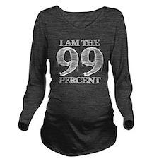 I am the 99 percent Long Sleeve Maternity T-Shirt