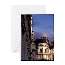 Europe, France, Paris. Buildings at  Greeting Card