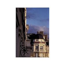 Europe, France, Paris. Buildings  Rectangle Magnet