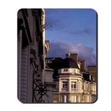 Europe, France, Paris. Buildings at dusk Mousepad