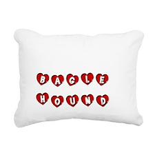 BAGLE HOUND Rectangular Canvas Pillow