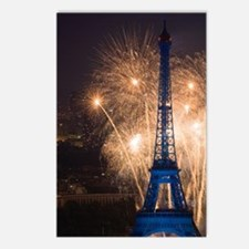July 14 fireworks at the  Postcards (Package of 8)