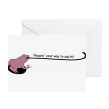Frog hello Greeting Cards (Pk of 10)