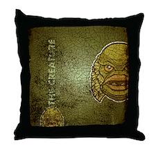 flipflop_creature Throw Pillow