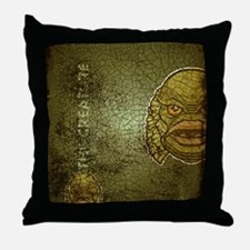 flipflop_creature Throw Pillow