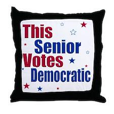 seniorvotes cp Throw Pillow