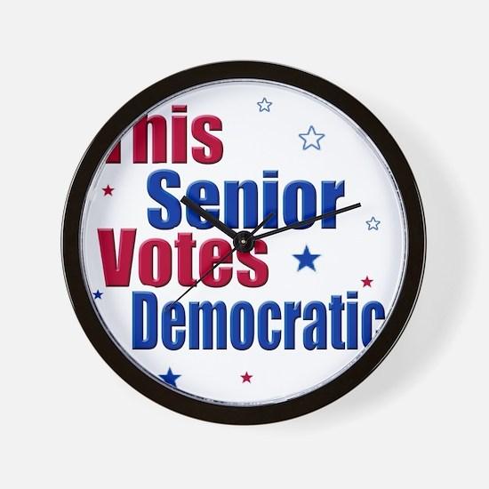 seniorvotes cp Wall Clock