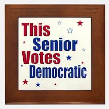 seniorvotes cp Framed Tile