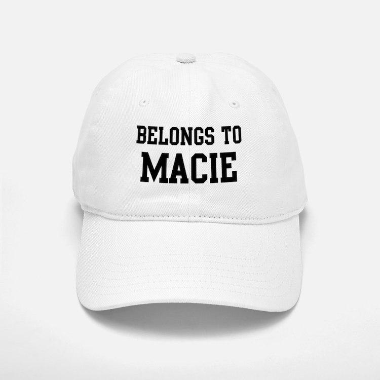 Belongs to Macie Baseball Baseball Cap