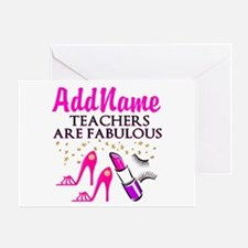 CUSTOMIZE TEACHER Greeting Card
