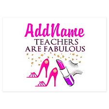 CUSTOMIZE TEACHER Invitations