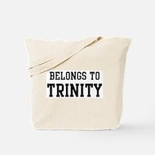 Belongs to Trinity Tote Bag
