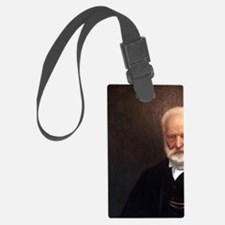 The portrait of Victor Hugo on t Luggage Tag