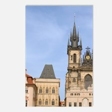 Old town square, Czech Re Postcards (Package of 8)