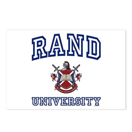 RAND University Postcards (Package of 8)