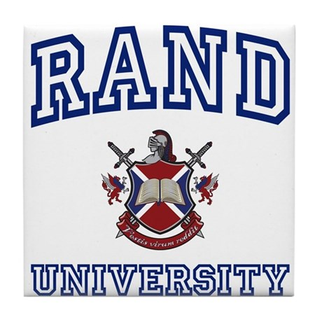 RAND University Tile Coaster