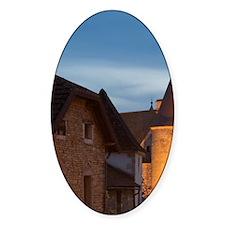 Chateauneuf en Auxois, Cote d'Or, B Decal