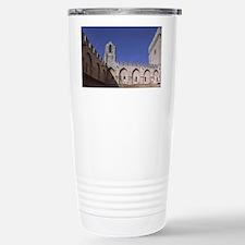 France, Avignon, Interior court Travel Mug