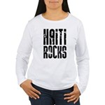 Haiti Rocks Women's Long Sleeve T-Shirt