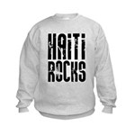 Haiti Rocks Kids Sweatshirt