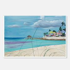 Island Getaway shirt Postcards (Package of 8)
