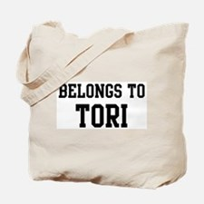 Belongs to Tori Tote Bag
