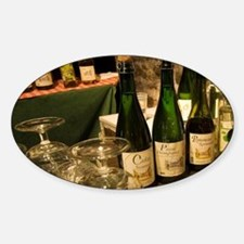Calvados tasting in the cellar of P Sticker (Oval)