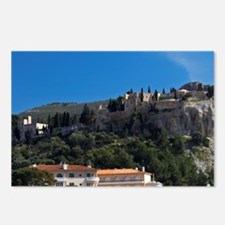 In the harbour in Cassis  Postcards (Package of 8)