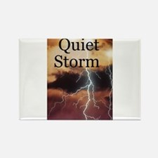 Funny Storm Rectangle Magnet