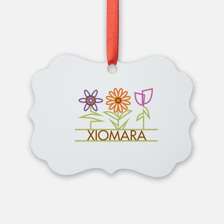 XIOMARA-cute-flowers Ornament
