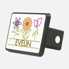 EVELIN-cute-flowers Hitch Cover