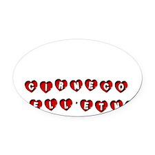 CIRNECO DELLETNA Oval Car Magnet