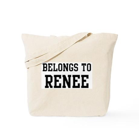Belongs to Renee Tote Bag