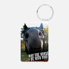 MaytheHorseCafe1-card Keychains