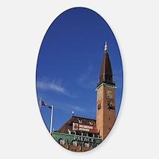 Denmark, Copenhagen, Radhuspladsen. Decal