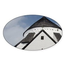 Historic Romanesque Osterlars Churc Decal