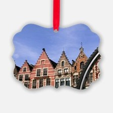 Belgium Great cafes through a bik Ornament