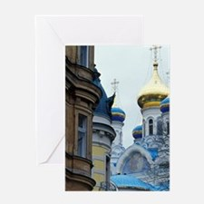 Karlovy Vary (Karlsbad). Russian Ort Greeting Card