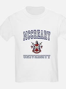 MCCREARY University Kids T-Shirt