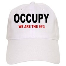 occupy we are blk and red Baseball Cap