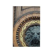 Europe, Austria, Vienna, detail o Rectangle Magnet