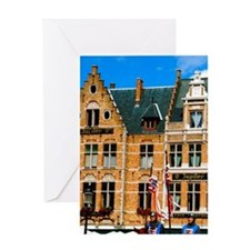 Bruges (aka Brugge). Ascension Day p Greeting Card