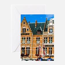 Bruges (aka Brugge). Ascension Day p Greeting Card