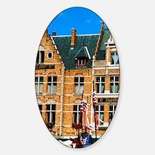 Bruges (aka Brugge). Ascension Day  Sticker (Oval)