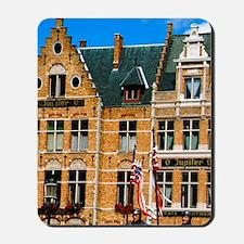 Bruges (aka Brugge). Ascension Day parad Mousepad