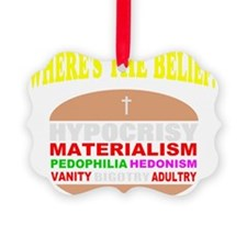funny religion gift Ornament