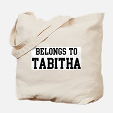 Belongs to Tabitha Tote Bag