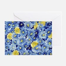 1.04_BLUE-DAISIES Greeting Card