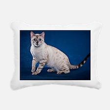 Bengal6 Rectangular Canvas Pillow